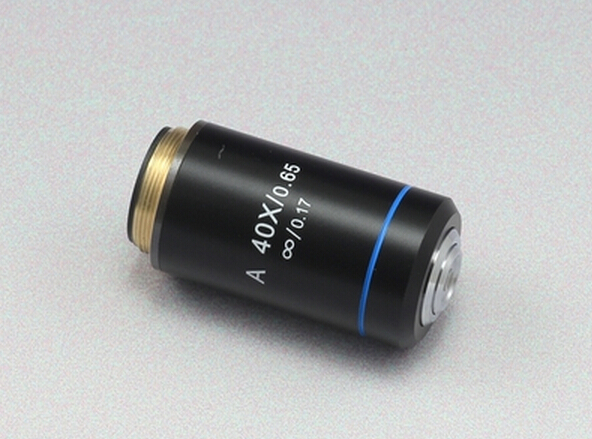 Achromatic Infinity 40X Objective Lens for Infinity Biological Microscope