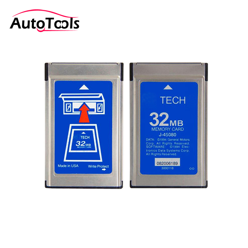 32MB memory card for G-M Tech diagnostic tool with 6 software for option via free shipping tech 2 scanner for sale
