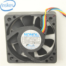 G5015M12D1 + 6 Áudio Do Carro Ventilador de Refrigeração DC 12 V 0.2A 5015 50*50*15mm 5 CM 4 Fios