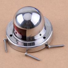 CITALL Stainless Steel DC 12V LED Marine Boat Yacht Bow Navigation Light Deck Mount Double Color Lamp