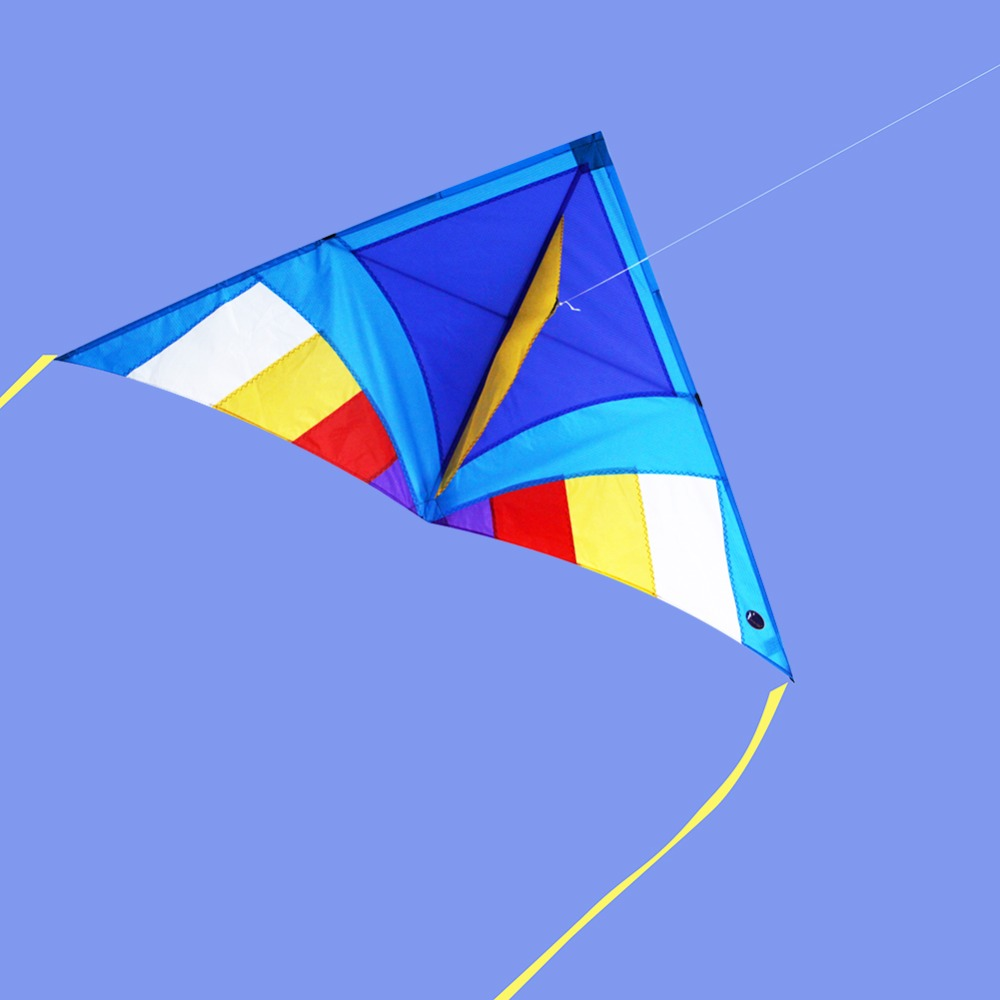 Single-Line-Delta-Kite-for-Children-Adults-Triangle-Shape-Beach-Kite-Flying-With-Kite-Accessories-100M-Line-Handle-1