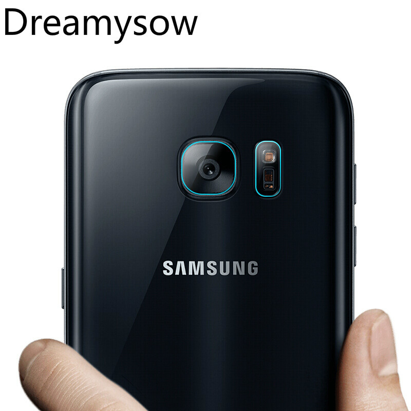 Dreamysow Back Camera Lens Flash Light Tempered Glass For Samsung Galaxy note8 note4 5 S6 edge S7 edge S8 PlusScreen Protector
