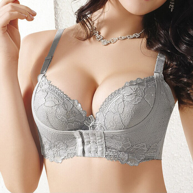 Push Up Bra Small Breast Bras For Women Underwear Thick Super Push Up Sutian Water Brassiere Sexy Lace 32 36 A B Cup Female Bra