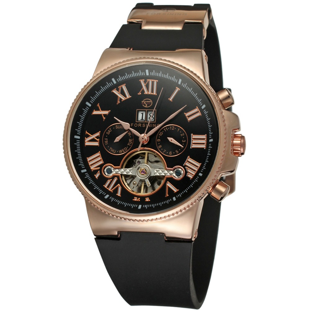 Date Plastic Band Mechanical Watch Men Watches Automatic Business Fashion Sports Luxury Brand Relogios masculino Relojes hombre winner skeleton mechanical watch luxury men black waterproof fashion casual military brand sports watches relogios masculino