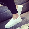 Fashion Men Flats Superstar New 2017 Shoes Men Slip on Shoes Loafers Breathable Male Shoes Summer Pu Leather Casual Shoes B112
