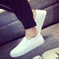 Los Hombres de moda Pisos Superestrella Nuevo 2017 Zapatos de Los Hombres se Deslizan en zapatos Mocasines Transpirable Zapatos Masculinos de Verano Zapatos Casuales de Cuero de La Pu B112