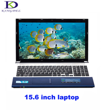 Classic style 15.6 inch laptop Intel Celeron J1900 Quad Core netbook HDMI USB3.0 WIFI Bluetooth DVD-RW home computer 4G+500G