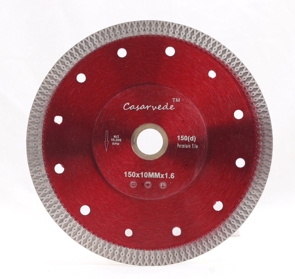 DC-SXSB04 D150mm Super Thin 6 Inch Porcelain Cutting Blade For Cutting Ceramic Or Porcelain Tile