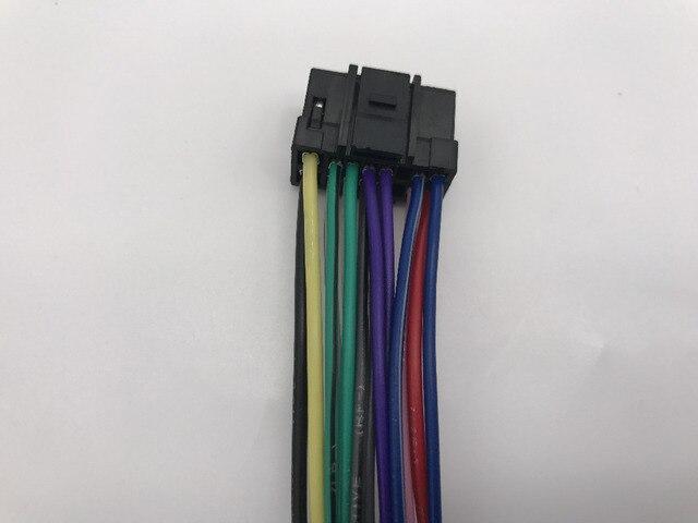 auto car stereo audio wire harness cable for alpine cda cde cdm cva rh aliexpress com Wire Harness Pin Tool 16 Pin Wire Harness Diagram