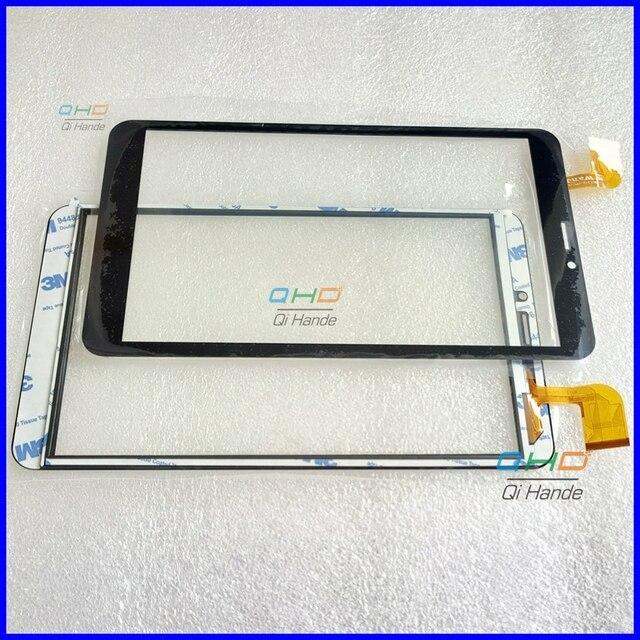جديد بالسعة اللمس شاشة WJ1312-FPC-V1.0 محول رقمي يعمل باللمس الاستشعار ل 8 ''بوصة اللوحي Prestigio و غريس 3118 3G PMT3118
