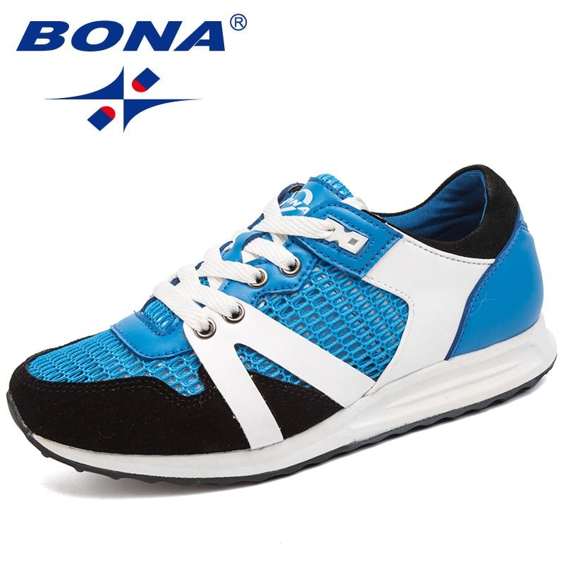 BONA New Hot Style Women Running Shoes Lace Up Outdoor Walking Jogging Shoes Comfortable Athletic Shoes Mesh Sneakers For Men банка для сыпучих продуктов lock