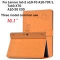 Цветок Печати Tab2 A10 70 Стенд Кожа Case Обложка для Lenovo tab 2 a10-70 A10-70F/L Tab3 X70 10.1 ''А10-30 X30 Тонкий Планшет Case