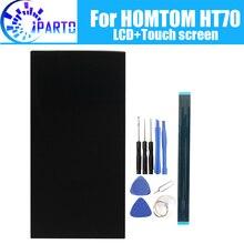 6.0 นิ้ว HOMTOM HT70 จอแสดงผล LCD + หน้าจอสัมผัส 100% จอ LCD เดิม Digitizer เปลี่ยนแผงกระจกสำหรับ HOMTOM HT70