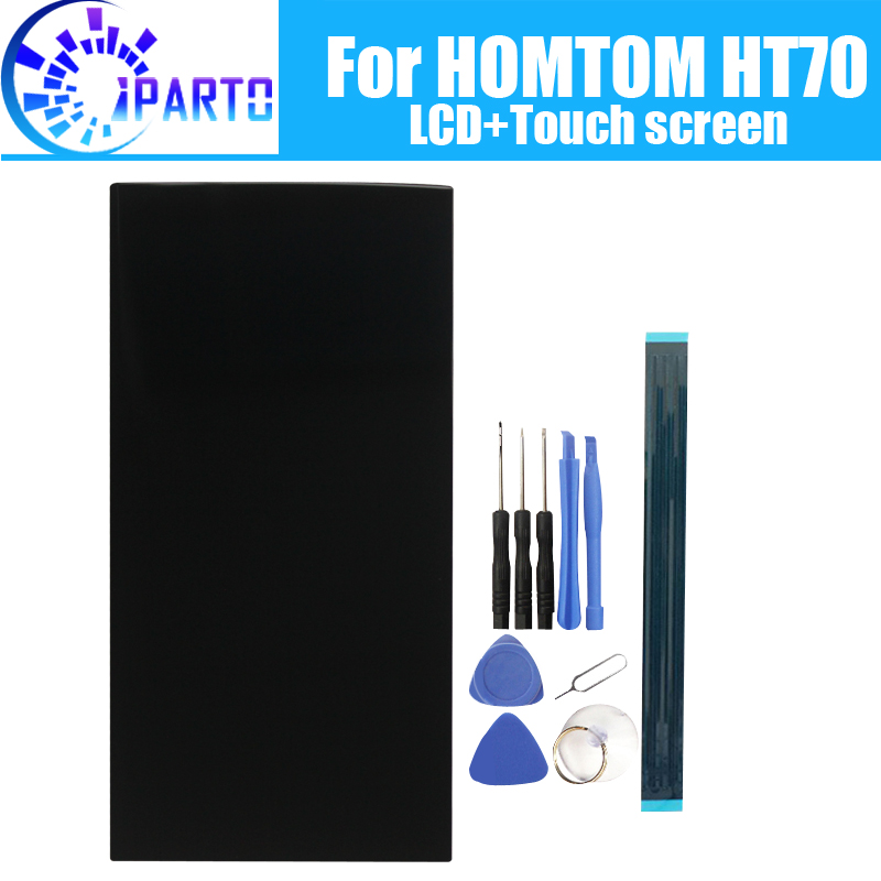 6.0 inch HOMTOM HT70 LCD Display+Touch Screen 100% Original Tested LCD Digitizer Glass Panel Replacement For HOMTOM HT70