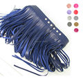 Handcrafted Fashion Sexy Women Girl Wide Belt Body Bondage Decoration Faux PU Leather Fringed Long Tassel Waist Straps