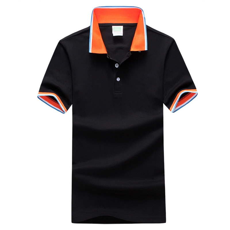2017 brand new men 39 s polo shirt men cotton polyester polo for Men s polyester polo shirts