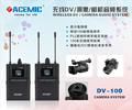 ENG/EFP Wireless DSLR Cameral Microphone System for journalist gather news, interview, TV station