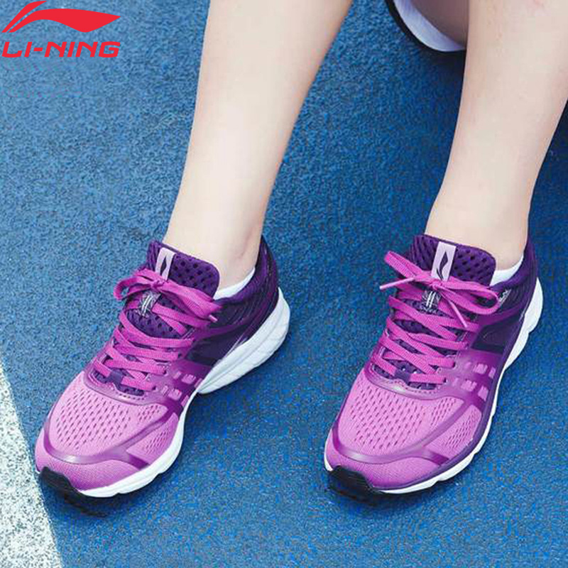 Li-Ning Women Rouge Rabbit 2017  Running Shoes NO CHIP Sneakers Wearable Cushion Light LiNing Li Ning Sport Shoes ARBM114 XYP598