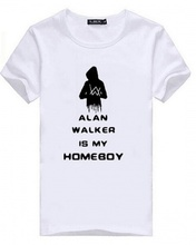 4bdeef7a9 Casual DJ Alan Walker Fade T Shirts For Men Short Sleeve Tee For Summer XXXL (