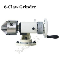 Six claw Grinder Tool Grinding Machine 50K Manual Angle Grinder Drill Bit Grinding Machine