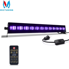 UV Black Lights Disco Light 36W 12 LED Blacklight Stage Lighting Effect Indoor Bar Wall Washer For Christmas Party DJ Lamp