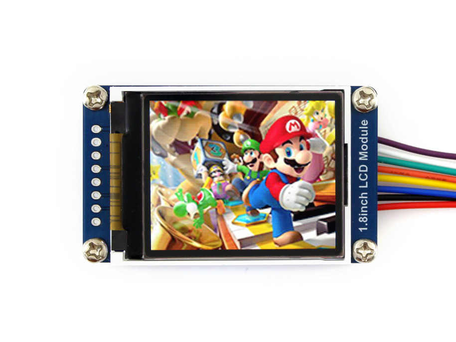 1 8inch LCD display Module 128x160 with Embedded Controller
