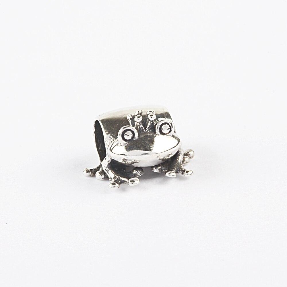 Jaune Perle en bois de 25 mm Perle 3D Tête de grenouille