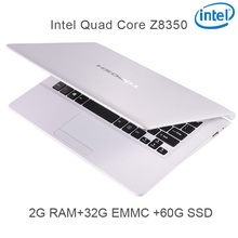 "P5-02 white 2G RAM 32G EMMC 64G Intel Atom Z8350 11.6 Windows10 HDMI WIFI System Laptop bluetooth computer notebook USB3.0"""