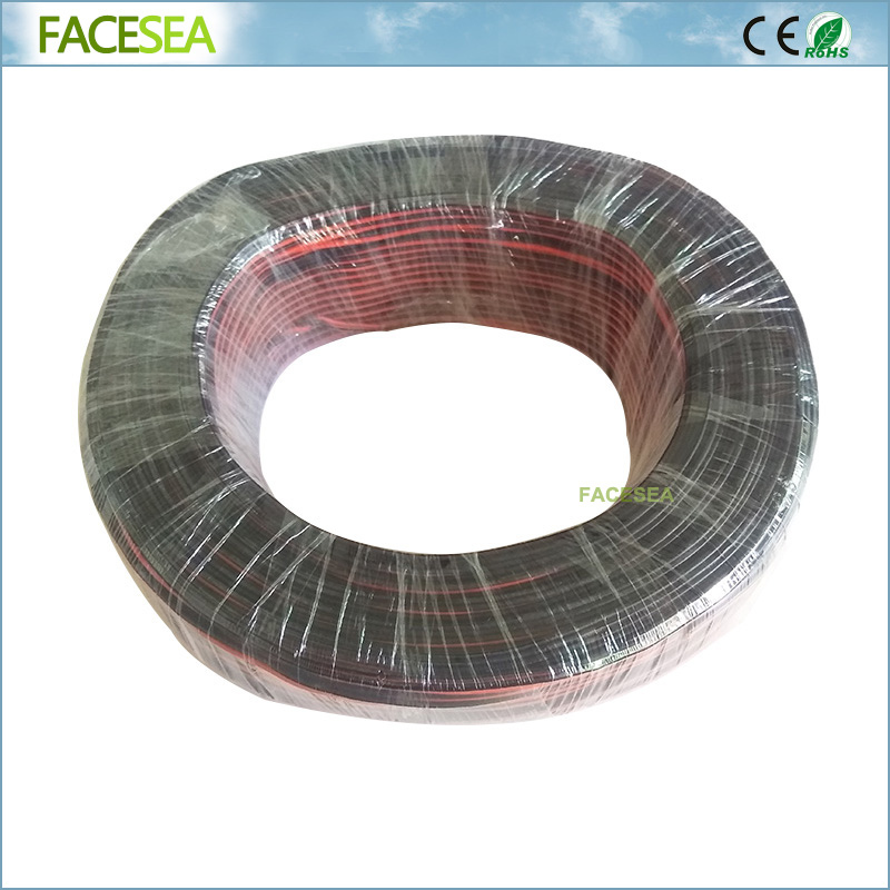 100m 20AWG Twin Silicone Wire Red Black 100/0.08TS Ultra Flexiable Test Line Cable High Temperature zury ultra twin 10 12 14 16 18 100