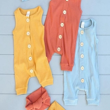 Romper Jumpsuit Bodysuit Clothes Set 2pcs Cotton