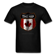 The HIP Tragally Canada Since 1984 T-Shirt Men Women tee Short Sleeve Tshirts Asian size S~XXXL(China)
