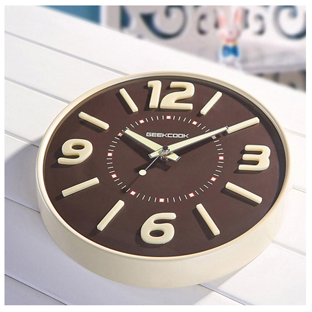Geekcook wall clock glow in the dark home decor watch silence 118 geekcook wall clock glow in the dark home decor watch silence 118 in wall clocks from home garden on aliexpress alibaba group amipublicfo Images