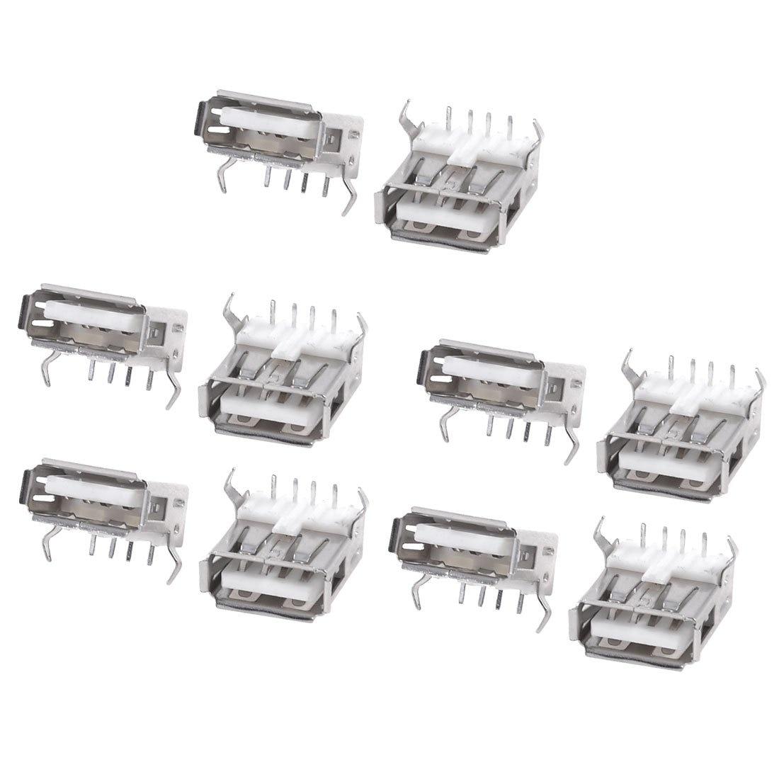 WSFS Hot Sale 10PCS USB Type A Standard Port Female Solder