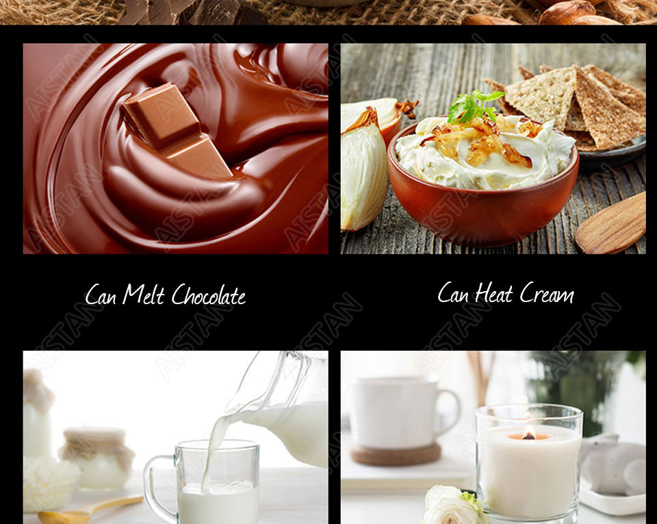 EH22/EH23/EH24 Electric Chocolate Stove Chocolate Melting Pot DIY Kitchen Tool of Catering Equipment 20