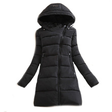 Wadded Clothing Female 2016 New Women's Winter Jacket Down Cotton Jacket Slim Parkas Ladies Coats Plus Size Winter Coat