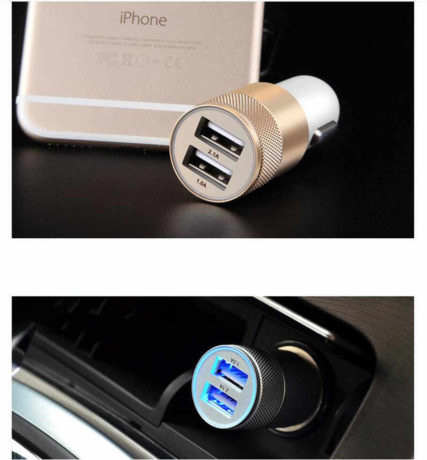 Mobil Styling 2 USB Output Charger Mobil untuk Great Wall Haval Hover H3 H5 H6 H7 H9 H8 H2 M4 untuk Chery A1 A3 Jimat A13 E5 Tiggo E3