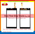 "High Quality 4.6"" For Sony Xperia SP C5302 C5303 C5306 M35h Touch Screen Digitizer Sensor Panel Front Glass Lens Black and White"