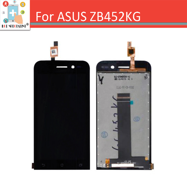 100% tested Touch Screen Digitizer + LCD Display Assembly For Asus Zenfone Go ZB452KG