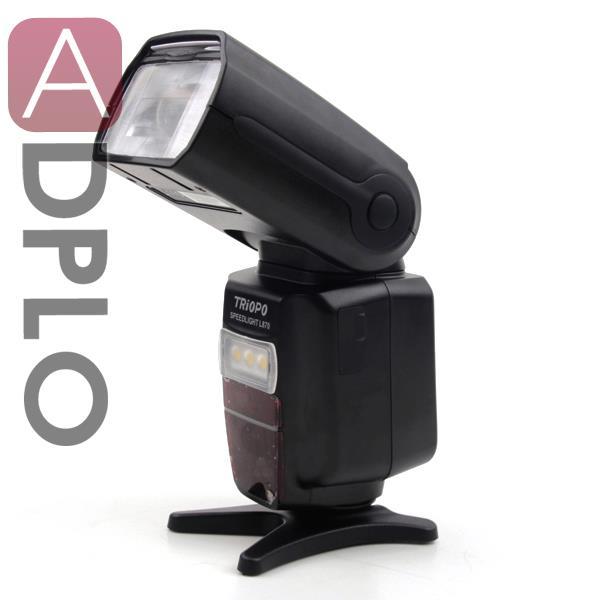 Triopo L870 Speedlight Wireless Master HSS 1/8000s Suit for Canon E-TTL 760D 750D 7D II /Nikon i-TTL D7200 D810A D5500 camera