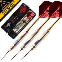 New CUESOUL 3PCS 23g 25g 27g Steel Tip Darts Professional Brand Needle Red Laser Dart Flights
