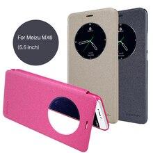 Чехол для Meizu MX6 (5.5 дюймов) Nillkin Sparkle Искусственная кожа чехол откидная крышка смарт проснуться Вид из окна для Meizu MX6 крышка