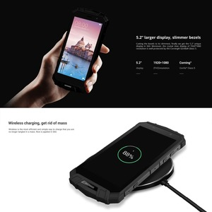 Image 5 - IP68 DOOGEE S60 Wireless Charge 5580mAh 12V2A Quick Charge 5.2 FHD Helio P25 Octa Core 6GB 64GB Smartphone 21.0MP Camera NFC
