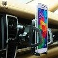 Baseus soporte del sostenedor del teléfono 360 grados de rotación universal del coche de viento serie car air vent mount holder para iphone samsung sony 5-10 cm