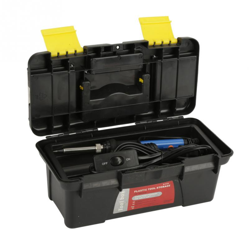 60W Electric Soldering Iron Set Adjustable Temperature Electric Soldering Iron Combination Set Welding Tool Kit цена