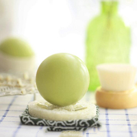 Sphere shaped silicone soap mold spherical craft mould ball fondant cake decoration 2 holes DIY Handmade soap molds