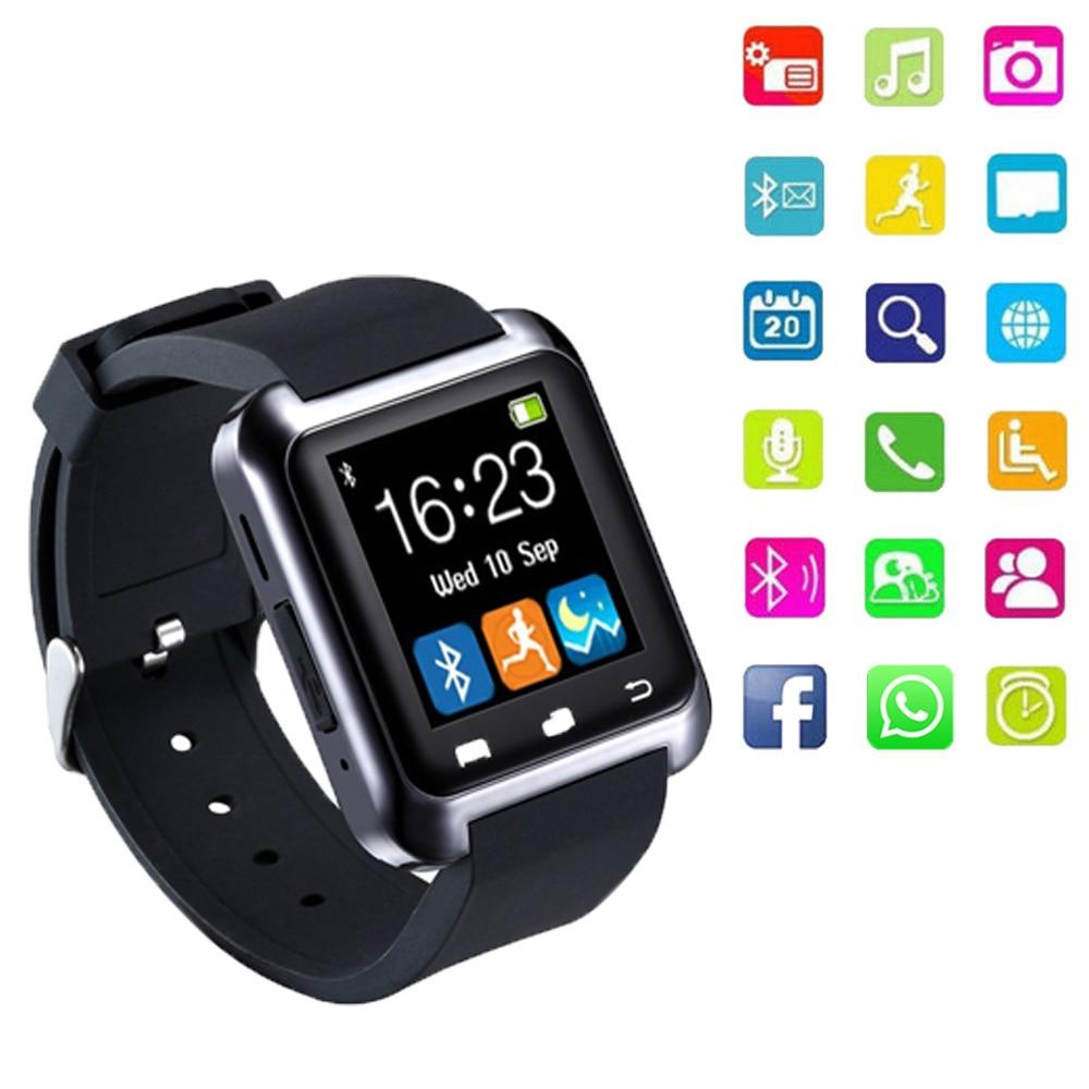 Yeni smartwatch Bluetooth erkek dijital saatler su geçirmez - Erkek Saatleri - Fotoğraf 1