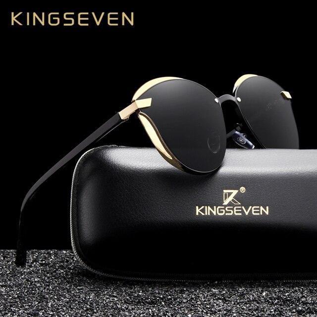 KINGSEVEN Cat Eye Sunglasses  3