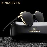 KINGSEVEN lunettes de soleil yeux de chat femmes polarisées mode dames lunettes de soleil femme Vintage nuances Oculos de sol Feminino UV400