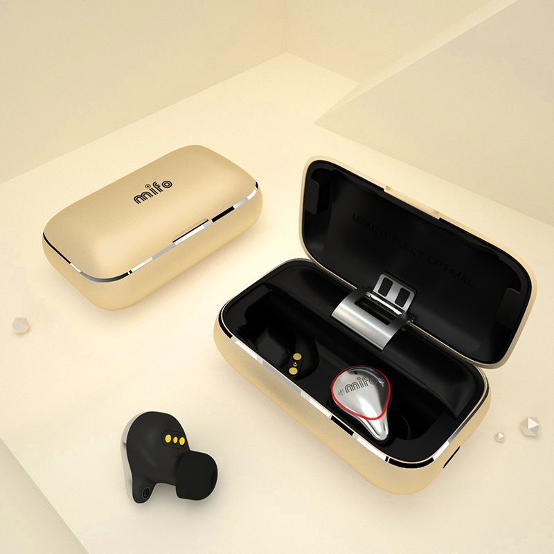 US $49 0 |Mifo O5 Bluetooth 5 0 True Wireless Bluetooth Headset 3 color  Binaural Mini Earbuds In Ear Sports Running Waterproof Earphones-in Phone