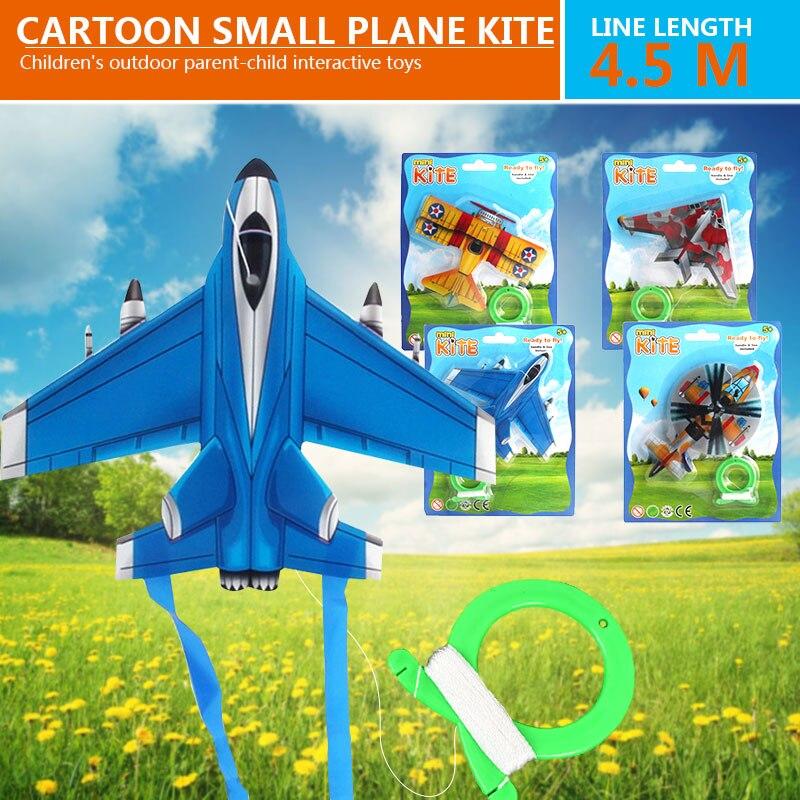 Удобный воздушный змей Пластик упражнения детский летающий змей для игрушки, Прямая поставка